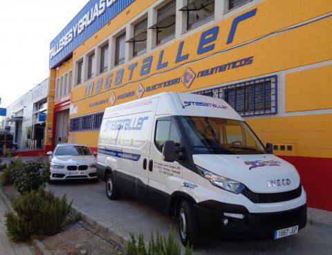 Furgoneta de sustitución, un servicio único en Granada